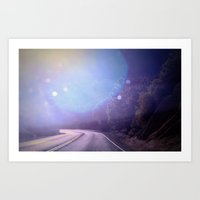 Magic Ahead Art Print