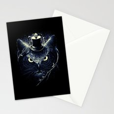 Meowl (Blue) Stationery Cards