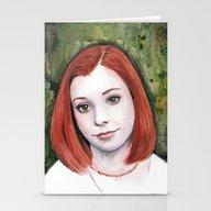 Willow Rosenberg Stationery Cards