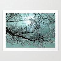 Blue Danube Art Print