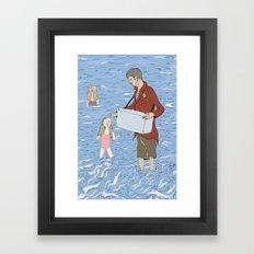 Ice Creamed Framed Art Print