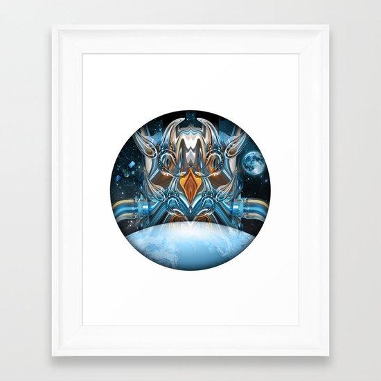 ion insurgence  Framed Art Print