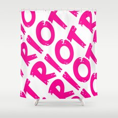 Riot Shower Curtain