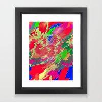 Sugar Shock Framed Art Print