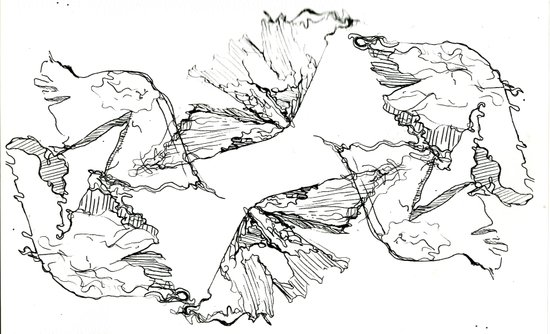 Fungi Transparency Art Print