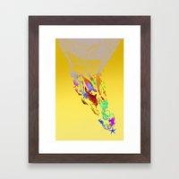 Save the seas Framed Art Print