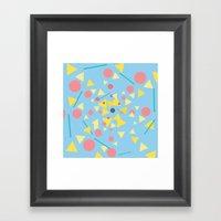 Chaos Around You Framed Art Print