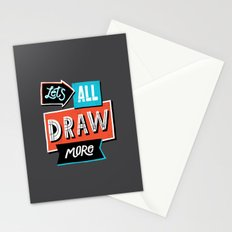 Draw, More Stationery Cards