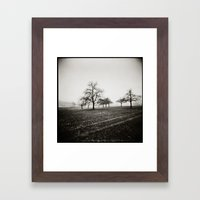 { skeleton trees } Framed Art Print
