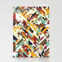 Native Geometric Stationery Cards