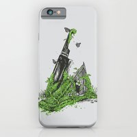 iPhone & iPod Case featuring Silent Decay by Hillary White