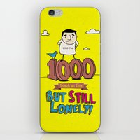 1000 Friends iPhone & iPod Skin