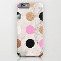Rose Gold Dots iPhone 6 Slim Case