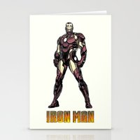 Iron Man - Colored Sketch Stationery Cards