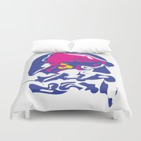 Taco Smudge Duvet Cover