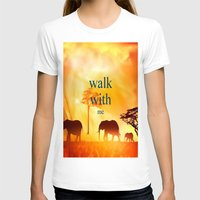 T-shirt featuring Walk with me by Laura Santeler