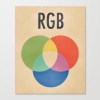 RGB Canvas Print