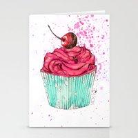 Creative Cupcake... Stationery Cards