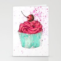 Creative Cupcake... Stationery Cards