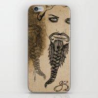 The Bearded Lady Olga  iPhone & iPod Skin
