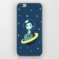 Space Alien iPhone & iPod Skin