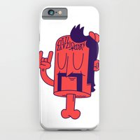 iPhone & iPod Case featuring Live Fast! by Johnny Cobalto