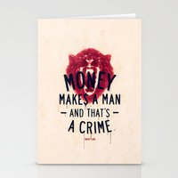 A Crime (variant) Stationery Cards
