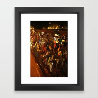 Love Locks Framed Art Print