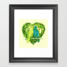 I Love You @Tweet Framed Art Print
