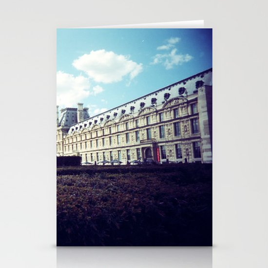 Louvre Gardens I Stationery Card