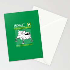 Starbug Service and Repair Manual Stationery Cards