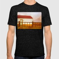 Land of soul Mens Fitted Tee Tri-Black SMALL