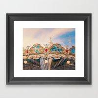 Merry Go Round Framed Art Print