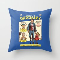 Tales Of The Ordinary Throw Pillow