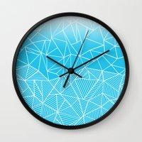 Ab Half And Half Electric Wall Clock