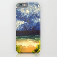 iPhone Cases featuring Blue Ocean by ANoelleJay