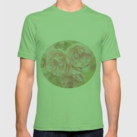 Rose Garden Mens Fitted Tee Grass SMALL