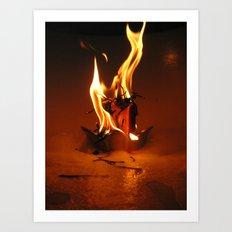 Candle Art Print