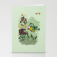9 Lives - Game Over Stationery Cards