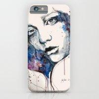 Window, watercolor & ink painting iPhone 6 Slim Case