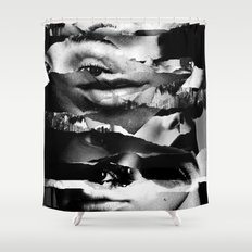Shadow of a Doubt Shower Curtain