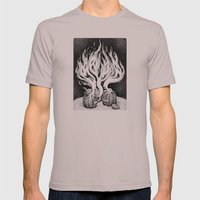 Escape Mens Fitted Tee Cinder SMALL