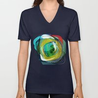 the abstract dream 24 Unisex V-Neck