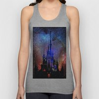 Fantasy Disney. Nebulae Unisex Tank Top