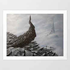 mimicking stones Art Print