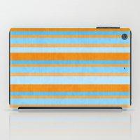 Something Fishy Stripes. iPad Case