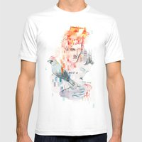 I can't speak your language Mens Fitted Tee White SMALL