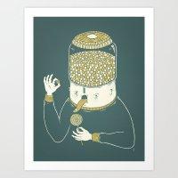 Candyholic Art Print
