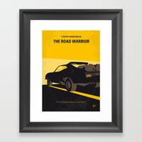 No051 My Mad Max 2 Road … Framed Art Print
