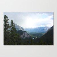 Banff Alberta Canvas Print